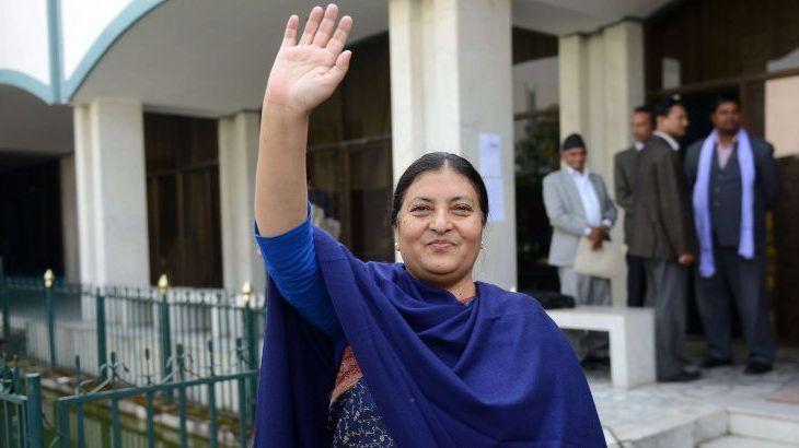 राष्ट्रपतिको शुभकामना सन्देश,'नेपाली दाजुभाई दिदीबहिनीको उत्तररोत्तर प्रगतीको कामना गर्दछु'