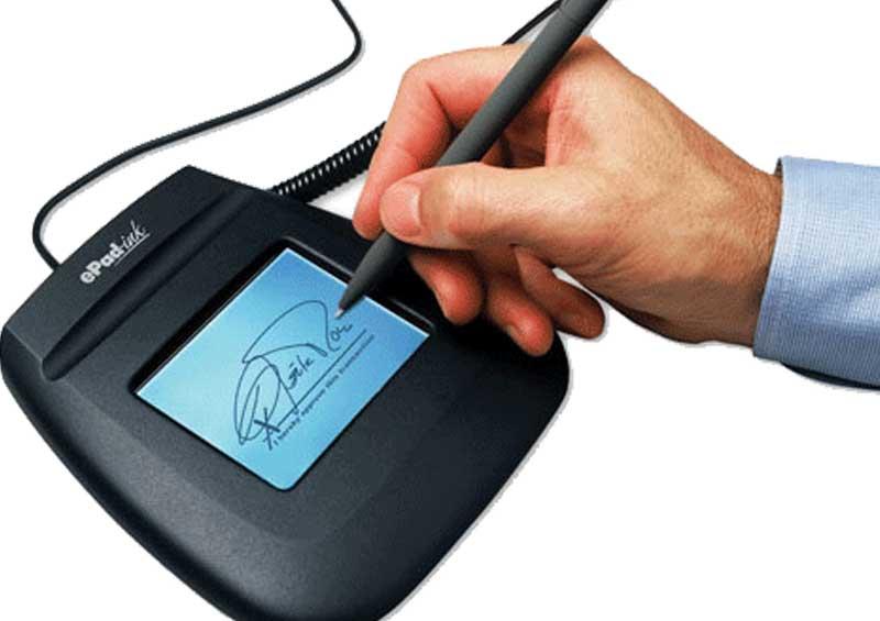 अब बैङ्किङ क्षेत्रमा 'विद्युतीय हस्ताक्षर'