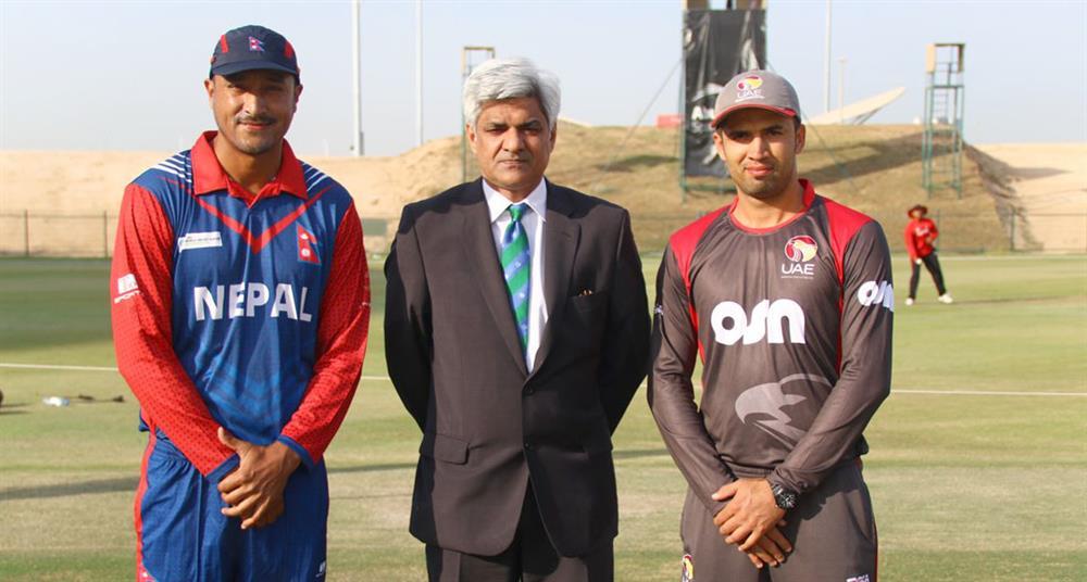 पाँच देशीय टी–ट्वान्टी सिरिज : नेपाल र ओमन खेल्दै