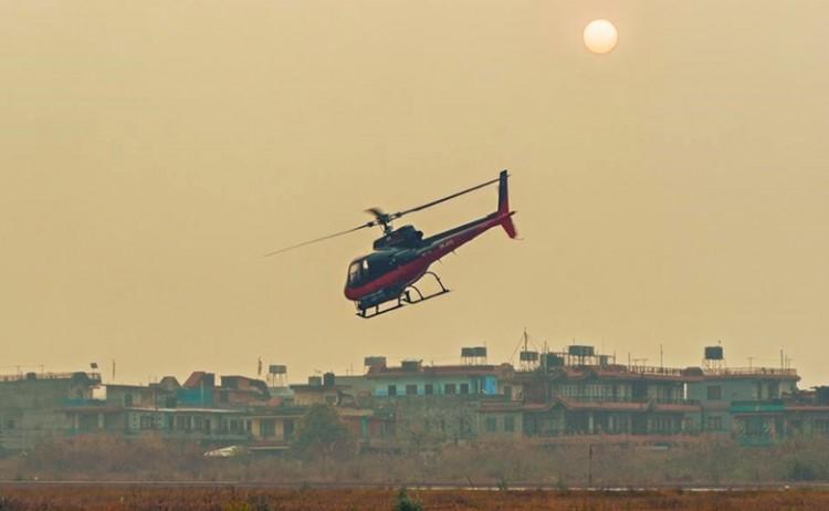 पर्यटन मन्त्री रविन्द्र अधिकारी, यति एयरका मालिक आङछिरिङ शेर्पा चढेको हेलिकोप्टर दुर्घटना !