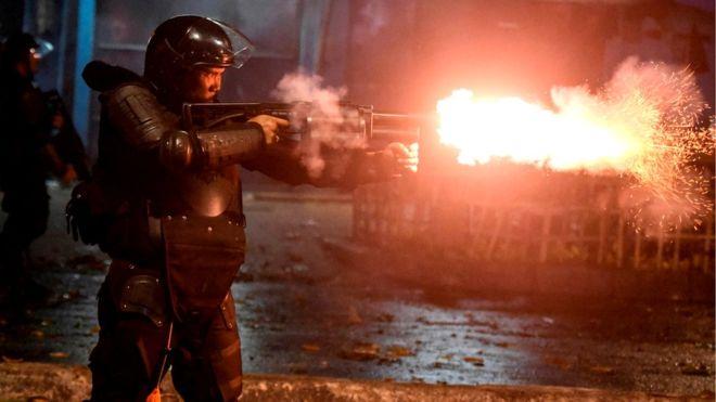इन्डोनेशिया निर्वाचन: परिणाम घोषणा भएपछि हिंसात्मक प्रदर्शन, कैयौँ गिरफ्तार