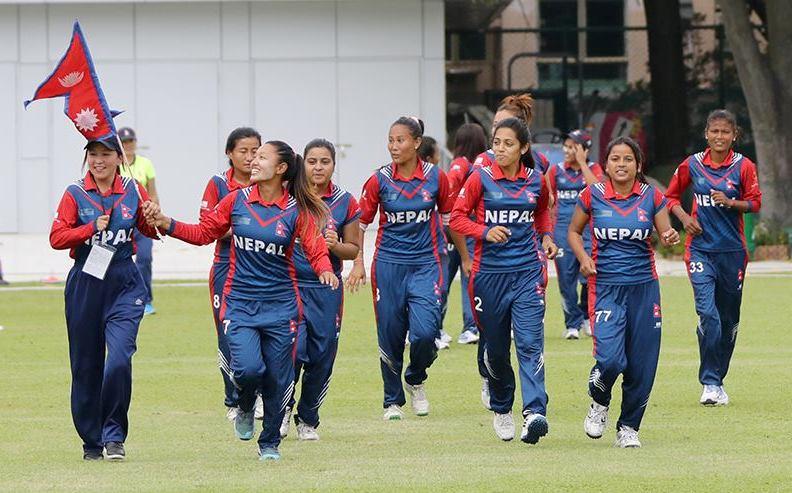 महिला टी–ट्वान्टी वरियतामा नेपाल एक स्थान ओरालो झर्दै १५ औँ नम्बरमा
