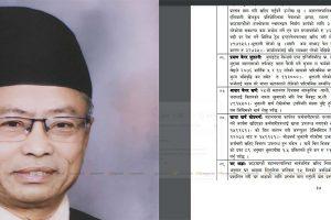 नेपाल बारका अध्यक्ष चण्डेश्वर श्रेष्ठ विवादमा : एउटै बहस बापत महानगरबाट सवा लाख लिएको खुलाशा !